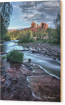 Cathedral Rock And Oak Creek 3381 Wood Print
