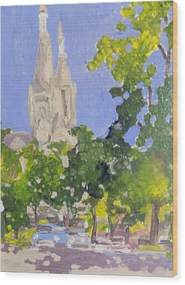 Cathedral Wood Print by Rodger Ellingson