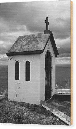 Catholic Chapel Wood Print by Gaspar Avila