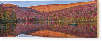 Catskills Panorama 1 Wood Print