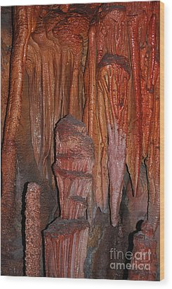 Wood Print featuring the photograph Caves In Arizona by Donna Greene