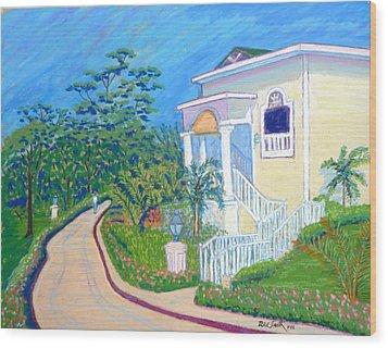 Cayo Levantado Wood Print by Rae  Smith PSC