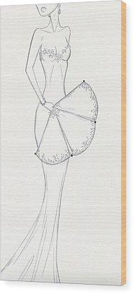 Cb24 Wood Print by Christine Corretti