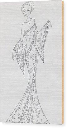 Cb27 Wood Print by Christine Corretti