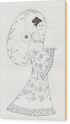 Cb29 Wood Print by Christine Corretti