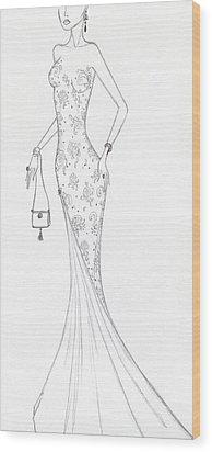 Cb46 Wood Print by Christine Corretti