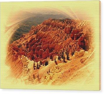 Cedar Breaks 2 Wood Print by Marty Koch