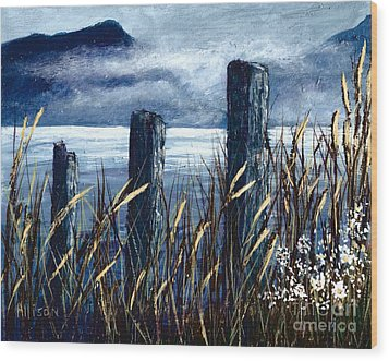 Cedar Cove  Wood Print