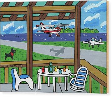 Cedar Key Airport Wood Print
