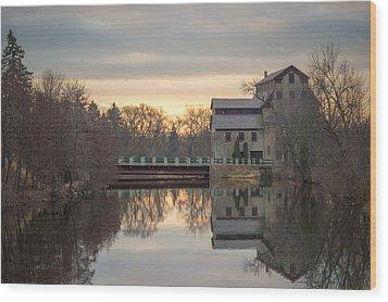 Cedarburg Mill Wood Print