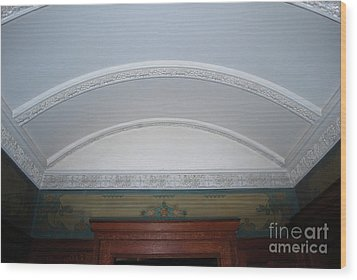Wood Print featuring the photograph Ceiling by Bill Thomson