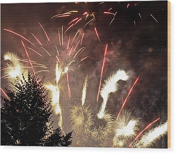 Celebration Wood Print by Jim DeLillo