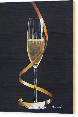 Celebrations Wood Print by Kayleigh Semeniuk