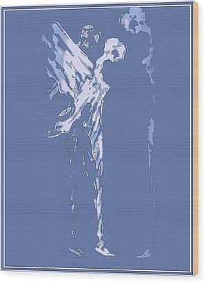 Celestial Peace Wood Print by Emna Bonano