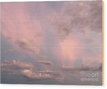 Wood Print featuring the photograph Celestial Sky by Paula Guttilla