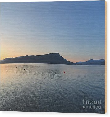 Wood Print featuring the photograph Celista Sunrise 2 by Victor K