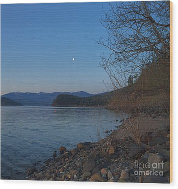 Wood Print featuring the photograph Celista Sunrise 3 by Victor K