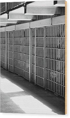 Cellblock A Wood Print