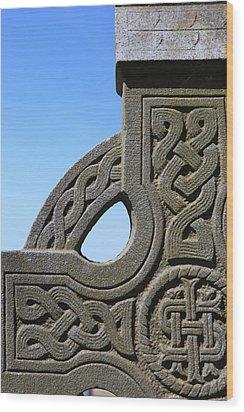 Celtic Wood Print by Joe Burns