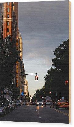 Central Park West 7524 Wood Print by PhotohogDesigns