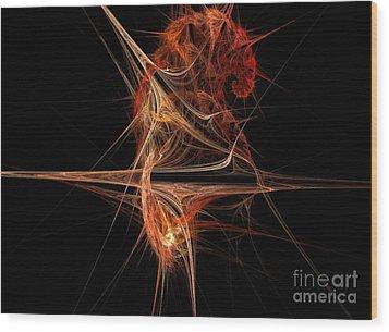 Cerebral Hemisphere Wood Print