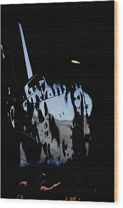 Wood Print featuring the photograph Cessna Art I by Paul Job