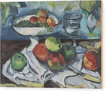 Cezanne Wood Print by Michelle Spiziri