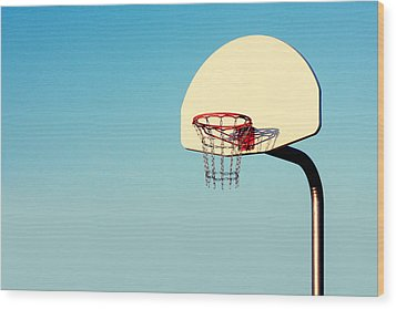 Chain Net Wood Print by Todd Klassy