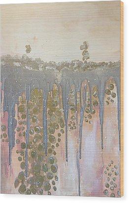 Champaigne Wood Print