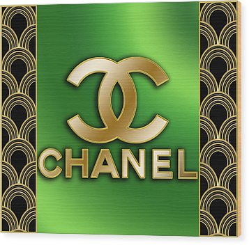 Chanel - Chuck Staley Wood Print by Chuck Staley