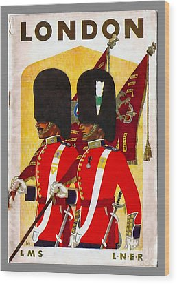 Changing The Guard London - 1937 Wood Print