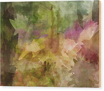 Chaos Wood Print by Sandy Belk
