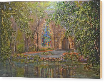 Chapel At Callaway Wood Print
