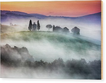 Chapel Of Our Lady Of Vitaleta Wood Print by Evgeni Dinev