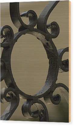 Charleston Ironworks 5 Wood Print by Tom Rickborn