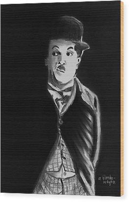 Charlie Wood Print by Arline Wagner