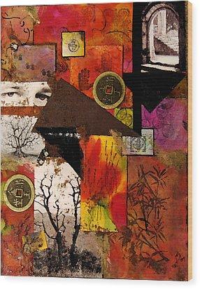 Charlie Wood Print by Patricia Motley