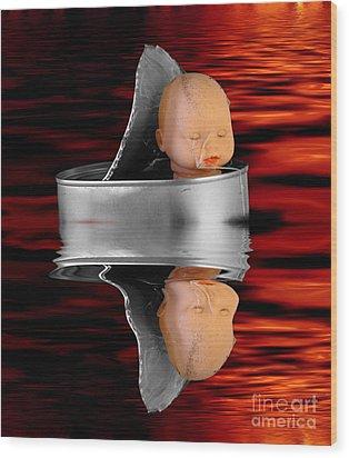 Charon - The Ferryman To The Underworld Wood Print by Michal Boubin
