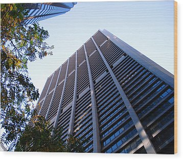 Chase Tower Chicago Wood Print by DB Artist