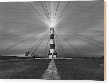 Wood Print featuring the photograph Chasing Light by Bernard Chen