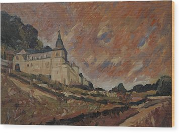 Chateau Neercanne Maastricht Wood Print by Nop Briex