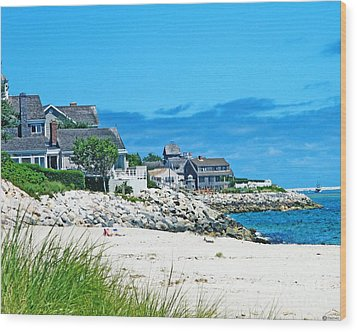 Chatham Cape Cod Wood Print by Lizi Beard-Ward