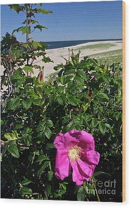 Chatham Flower Wood Print
