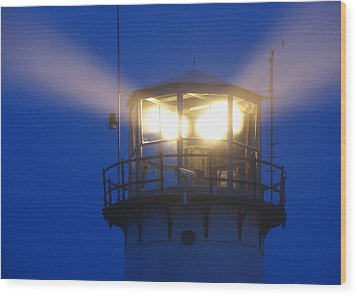Chatham Light Wood Print by Juergen Roth