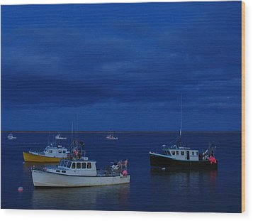 Chatham Pier Wood Print by Juergen Roth