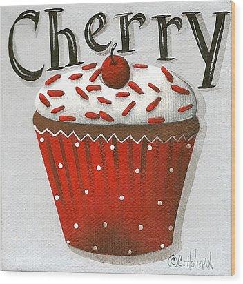 Cherry Celebration Wood Print by Catherine Holman