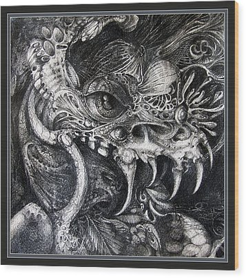 Cherubim Of Beasties Wood Print by Otto Rapp