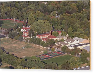 Chestnut Hill Academy 500 West Willow Grove Avenue Philadelphia Pa 19118 4198 Wood Print by Duncan Pearson