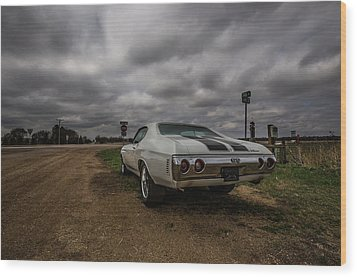 Wood Print featuring the photograph Chevelle Ss by Aaron J Groen