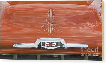 Chevrolet 30-1956 Hydramatic 3100 Wood Print by Wendy Wilton